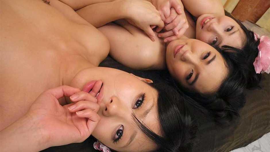 Uta Kohaku, Hina and Sanae Momoi are having free sex lessons - Japan HDV
