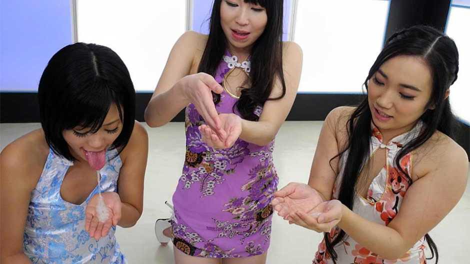 Uta Kohaku, Hina Sanae and Momoi are returning favors every time - Japan HDV