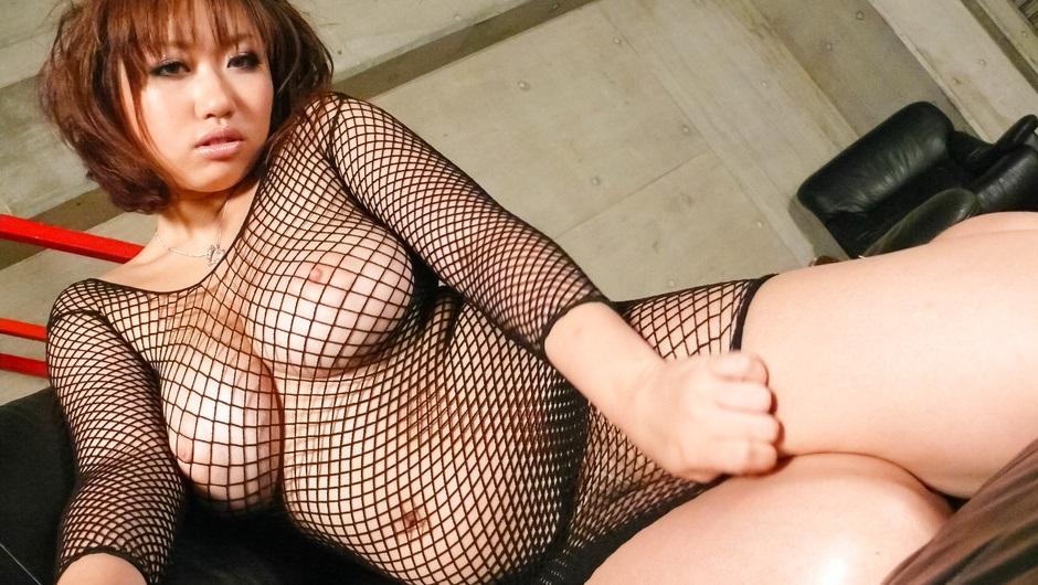 MILF with big asian tits Neiro Suzuka vibrated to an orgasm - AVTits