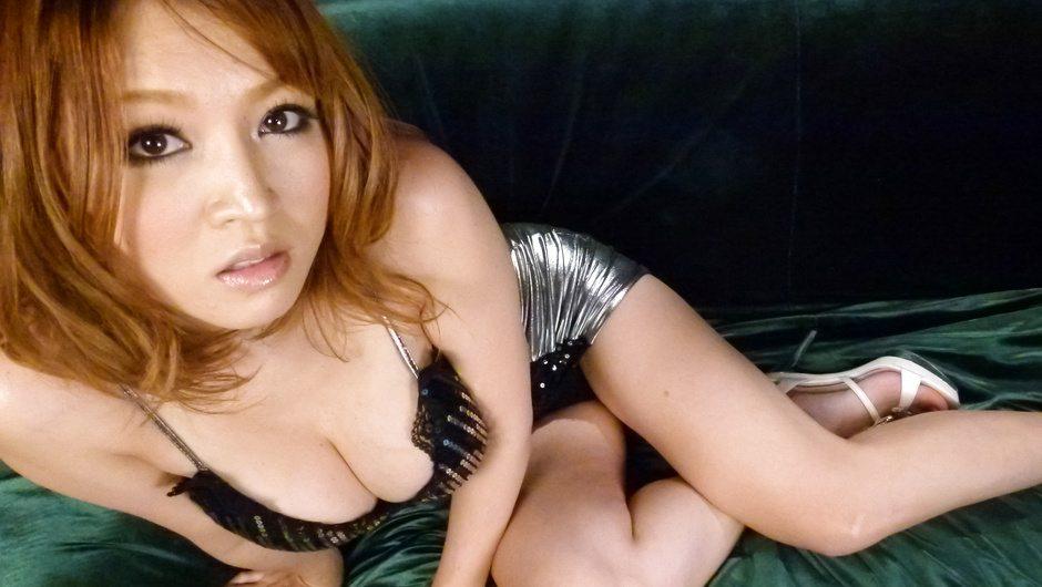 Curvy asian milf Yuki Touma rides his cock wonderfully - HeyMilf