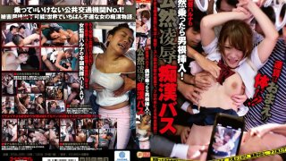 [GTAL-025] The Female Director Haruna's 'If You Happen To Get On, You're Fucked!' Public Rape And Molestation On A Bus - R18
