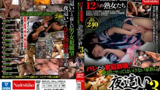 [NASS-551] If They Get Caught It'll Destroy The Family! Totally Naughty Night Visits! 3 - R18
