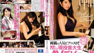 [MIFD-003] Her Parents Are Popular Pianists!! A Sensual F Cup Titty Real Life Music Student In Her AV Debut!! Mikako Arimura(Not Her Real Name), Age 20 - R18