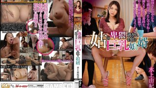 [GVG-733] Son-In-Law Lusting For His Mother-In-Law's Super Obscene Big Tits - R18