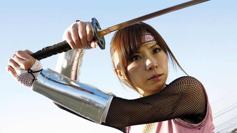 Super hero ninja Sumire Matsu fucked by enemies - Japan HDV