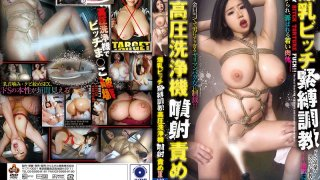 [NITR-437] Tying Up A Slut With Colossal Tits And Training Her. Tormented With A High-Pressure Cleaning Tool II. Hinami Miyase - R18