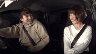 [GRCH-372] Car Sex - We Were In the Car And Stuck Together And Cumming Over And Over Again Alec x Yurina Aizawa - - R18