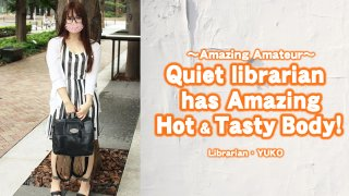 [4188-035] Quiet librarian has amazing Hot & Tasty Body! - HeyDouga