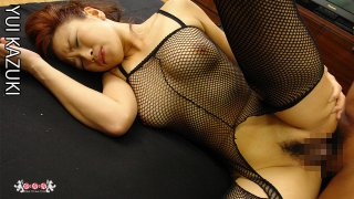 [4207-02245] Anal fuck in fishnet tights Marin Hoshino - HeyDouga
