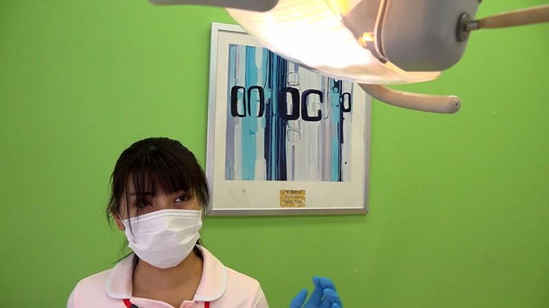 [SDZ-018] Slender Big Tits Dentist Assistant Sudden Fuck With A Beautiful Girl In The Medical Exam Room And Big Facial Kaoru Kira - R18