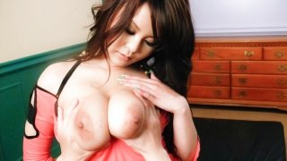 Lovely Japenese babe Airi-Ai fucked hard and gets spunked - JAVHD