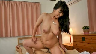 Ryouko Murakami's neighbor comes to return her panties and fucks her too. - Japan HDV