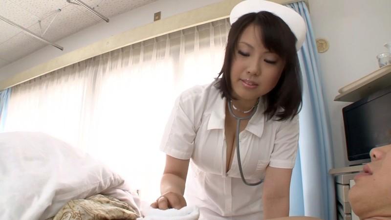 [J99-086E] A Mature Woman's Blowjob And Handjob: Nurse Edition Rin Aoki 28 Years Old - R18