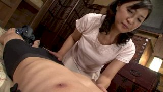 [J99-081D] A Stepmom's Sex Life With Her Stepson Misako Date 50 Years Old - R18