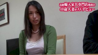 [J99-100A] First Porno Debut! The Deflowering Of A Beautiful Married Woman With F Cup Breasts First Undressing Blowjob Version Saeko - R18