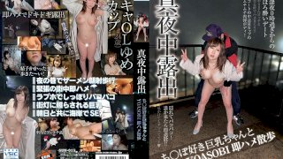 [SUN-015] Midnight Exhibitionism Fooling Around At Night With A Cock-Loving Girl With Big Tits Quickie Sex Walk - R18