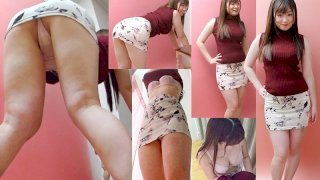 [STVF-039] Amateur Panty Shot Action At Home During A Private Video Session Vol.039 Thongs! A College Girl In A Miniskirt Police Costume An Amateur Model Marika-chan 'What ... I Didn't Know It Would Be This Short ... I Think My Ass Is Showing ... Oh No ...' - R18
