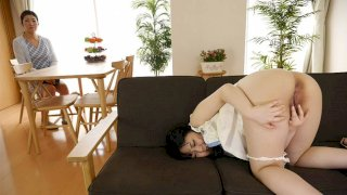 Satomi Nagase has her first AV experience with us at JapanHDV today - Japan HDV