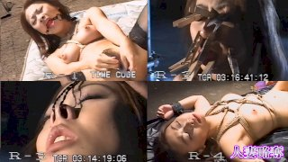 [4181-719] [Heisei super SM play! ] Tied up and blamed the dildo! Nose hook! 100 minutes with nothing! !! - HeyDouga